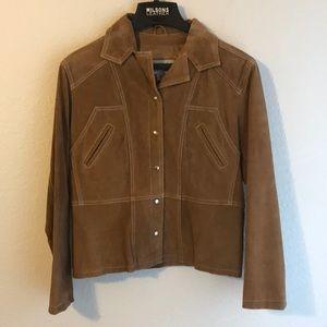 Wilson Tan Leather Jacket